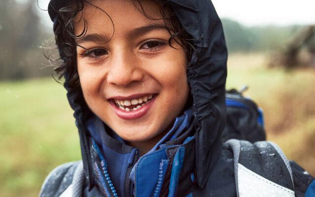 Kinderen Spetter, spatter – weervast