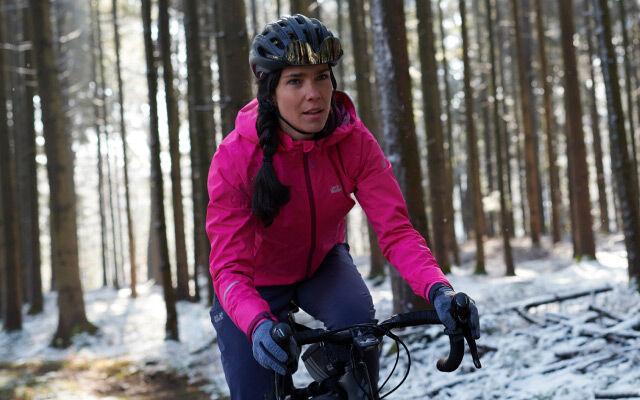 Dames Bike – op de pedalen
